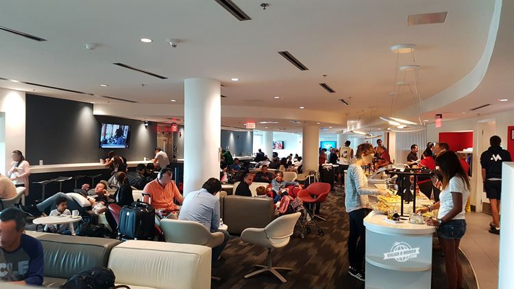 Sala VIP Avianca - Terminal J do Aeroporto de Miami. Blog Viajar o Mundo. Viajaromundo.com