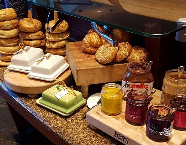 Buffet do café da manhã - Prime Meridian Restaurant. Blog Viajar o Mundo. Viajaromundo.com