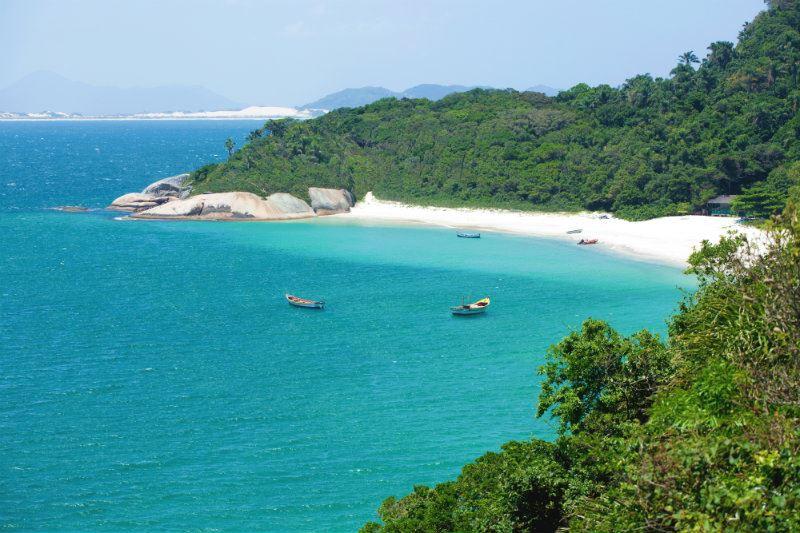 Ilha do Campeche - Turismo em Florianópolis - Publieditorial