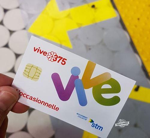 L'occasionnelle - Bilhete de transporte de Montreal. Blog Viajar o mundo