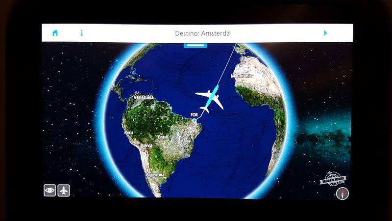 Fortaleza - Amsterdã na Economy Comfort do A330 da KLM. Blog Viajar o Mundo