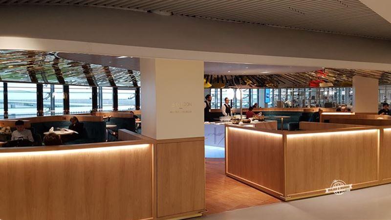 Le Balcon - Sala VIP Air France Terminal 2E Hall L. Blog Viajar o Mundo.