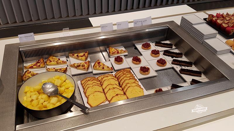 Doces - Sala VIP Air France Terminal 2E Hall L. Blog Viajar o Mundo.