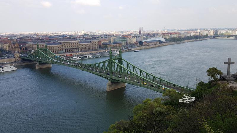 Ponte da Liberdade (ou Szabadság híd). O que fazer em Budapeste. Blog Viajar o Mundo.