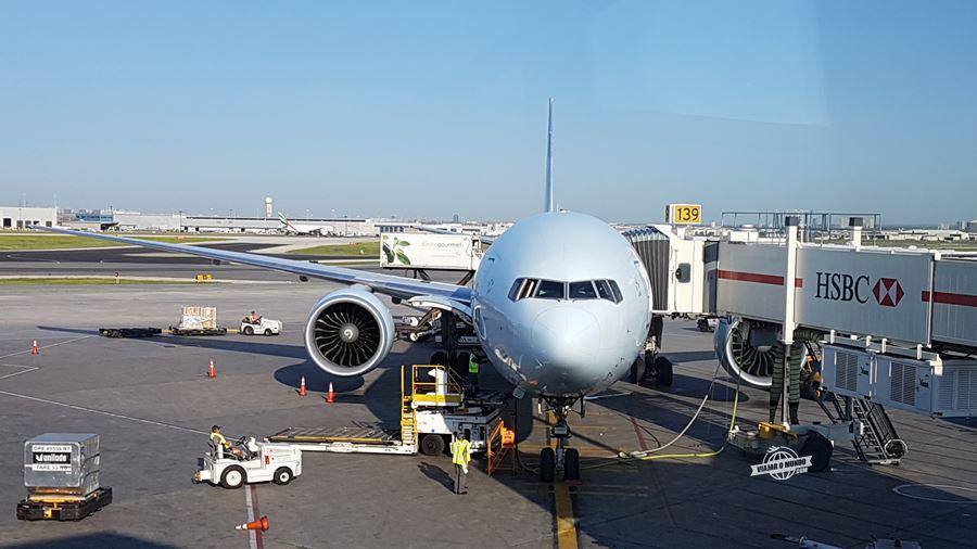 Boeing 77W da Air Canada. Blog Viajar o Mundo.