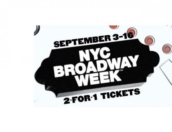 NYC Broadway Week: 2 ingressos da Broadway pelo preço de 1