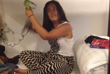 Secadora de pelo hostels viajes hacer mochila para dar vuelta al mundo