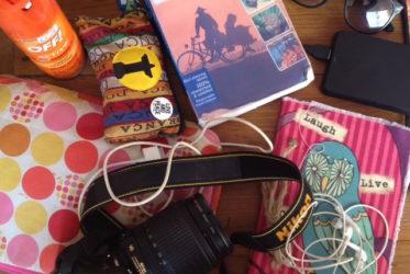 kit de viaje repelente guía cámara de fotos