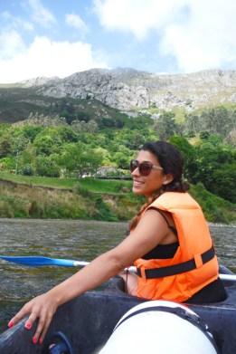 Descenso del Sella desde Ariondas, en Asturias