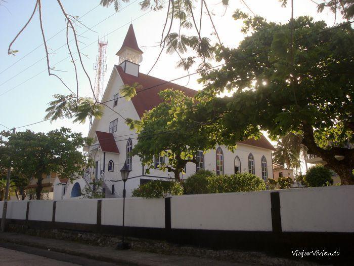 iglesia de isla san andres