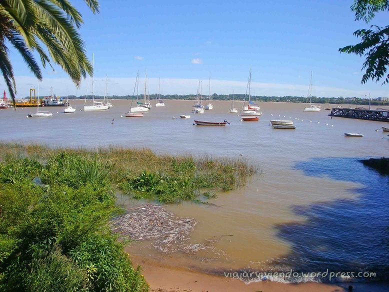 rio de la Plata en Colonia del Sacramento Uruguay