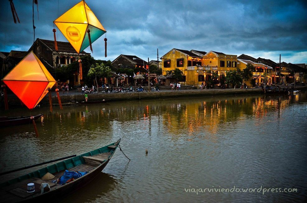 Uno de los sitios con mas encanto de Vietnam: Hoi An y sus faroles