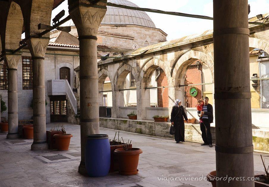 interior mezquita