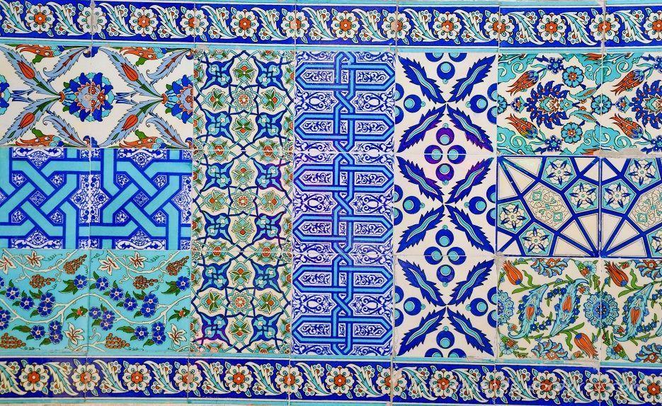 mosaicos en estambul