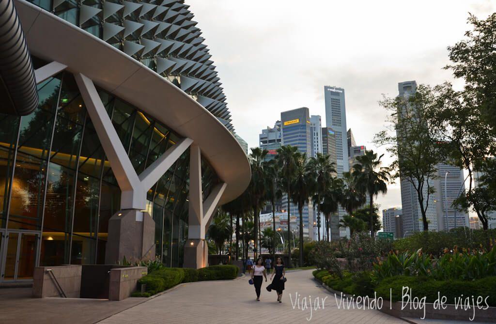 The Esplanade - que hacer en Singapur gratis de noche