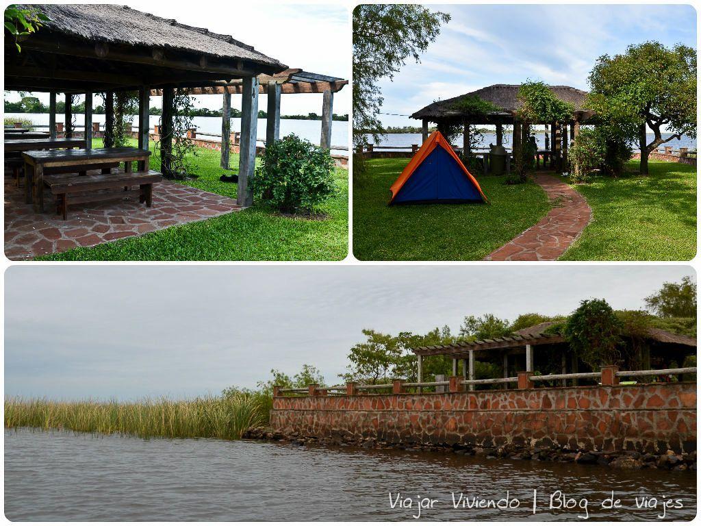 quincho camping ibera - viajar a los Esteros del Iberá