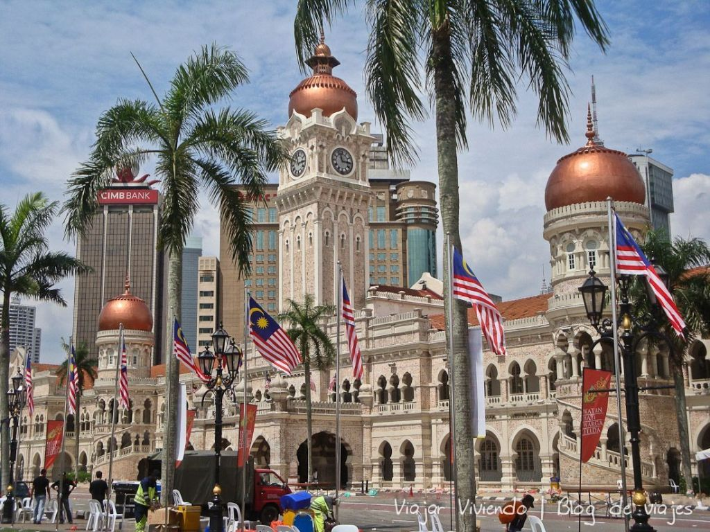 Sultan Abdul Samad Kuala - qué ver en Kuala Lumpur