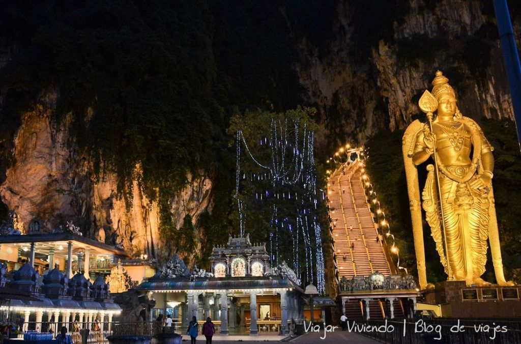 batu caves - qué hacer en Kuala Lumpur