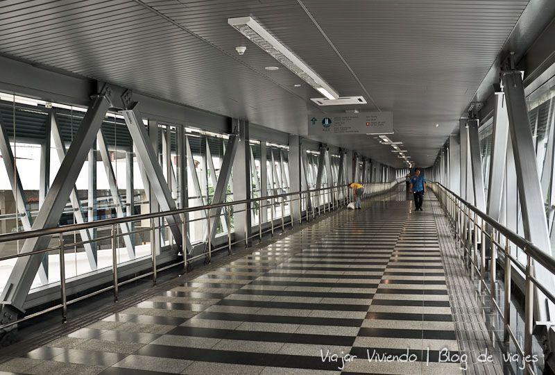 pasarela Kuala Lumpur Petronas - transporte en Kuala Lumpur - como moverse por Kuala Lumpur