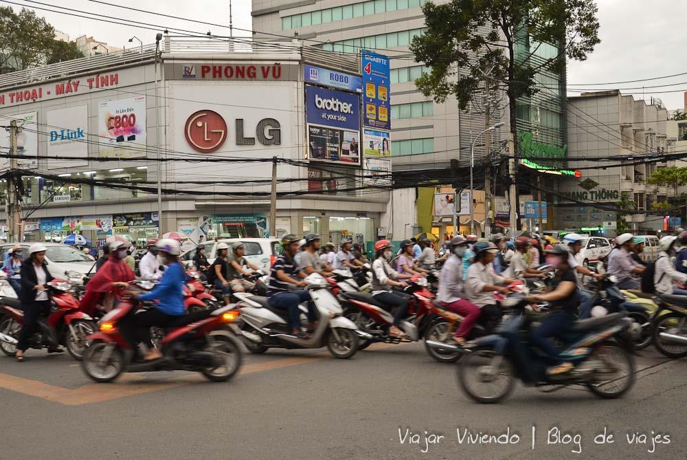el trafico de Vietnam