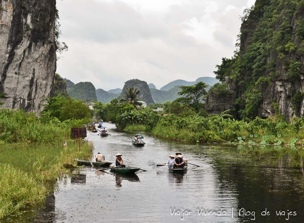 Que ver en Vietnam: Tam Coc en Ninh Binh