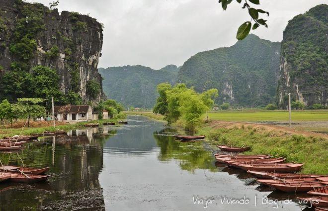 paisaje Tam Coc Vietnam