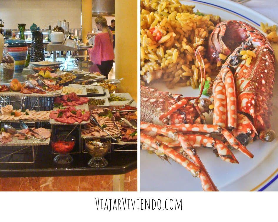 Comida del hotel Iberostar Punta Cana