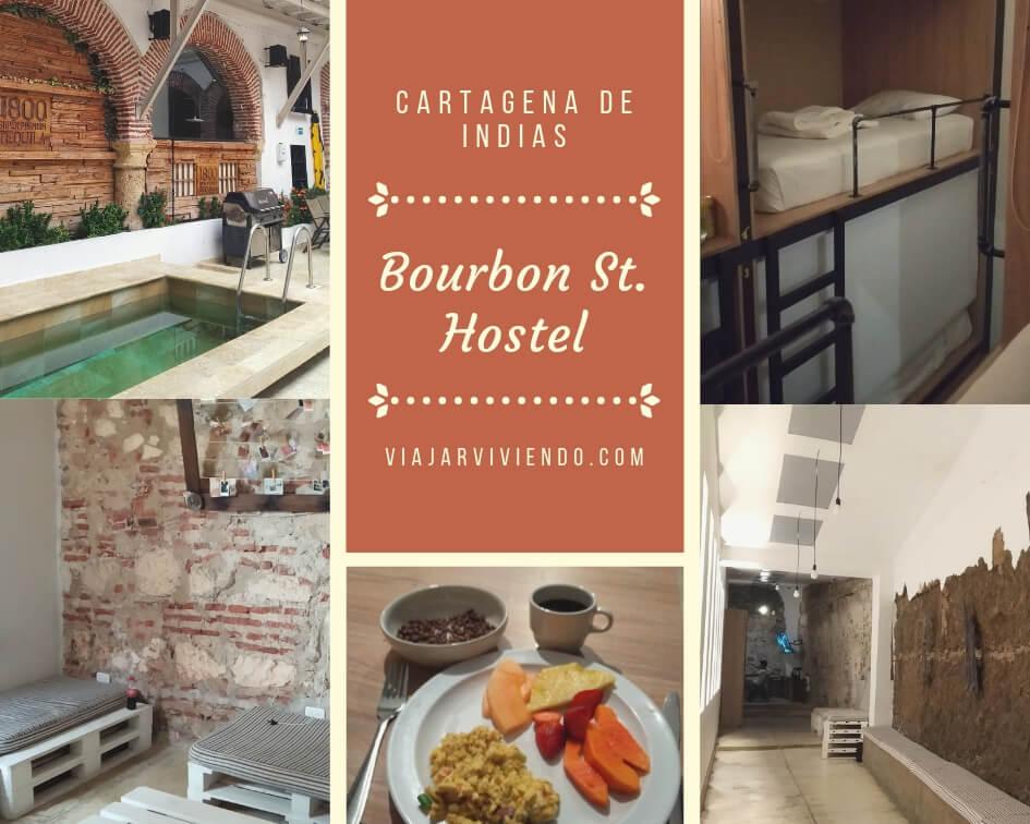 donde alojarse - hostel bourbon cartagena