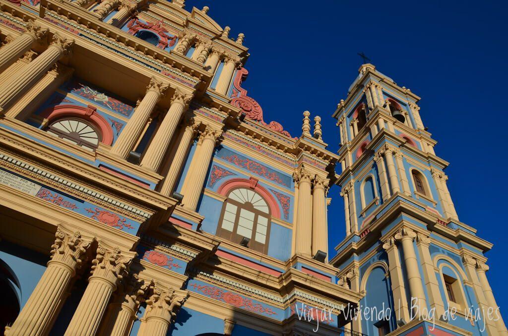 iglesia de la Viña en Salta
