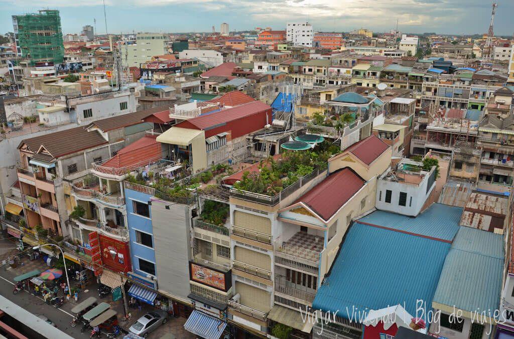 itinerario viajar a Camboya - Phnom Penh