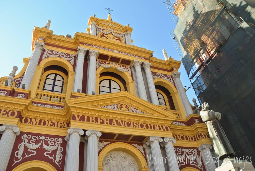 qué hacer en Salta en unos dias - iglesia San Francisco