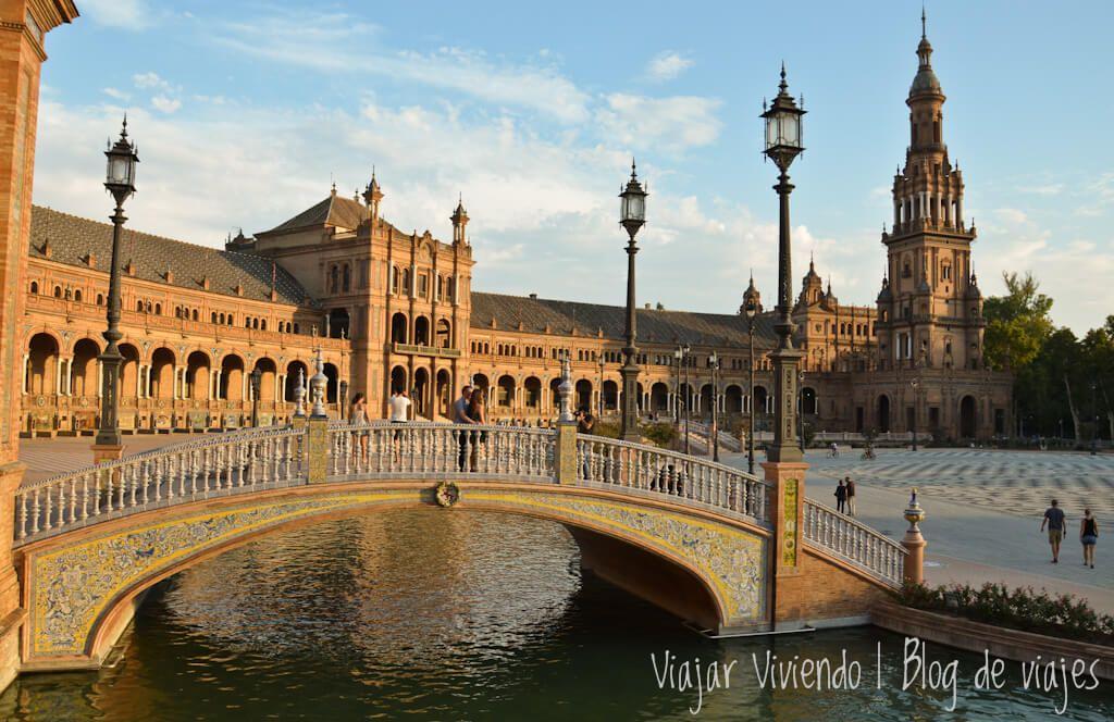 plaza de España en Sevilla - Andalucia en 7 dias