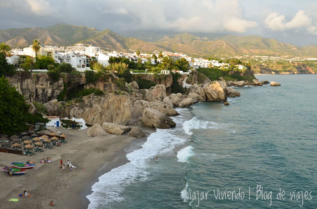 recorrer el sur de España en auto - Nerja