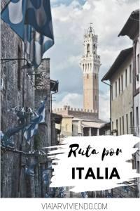Ruta en coche por Italia