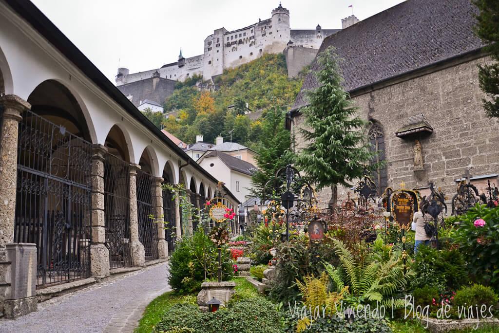 Cementerio de San Pedro que ver en Salzburgo