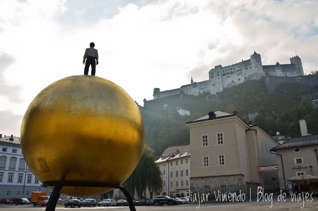 Sphaera en Kapitelplatz de Salzburg
