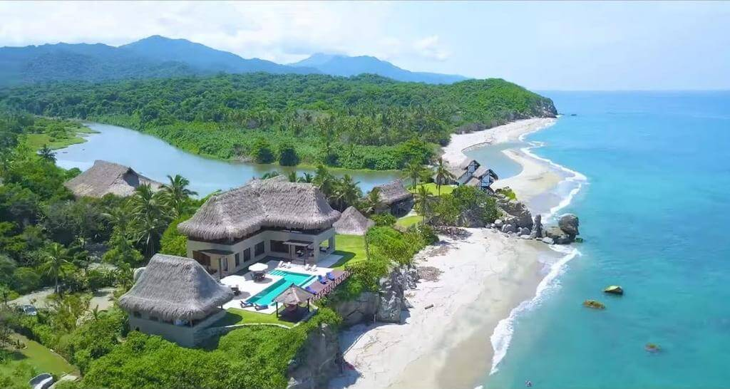hotel de lujo en costa colombia