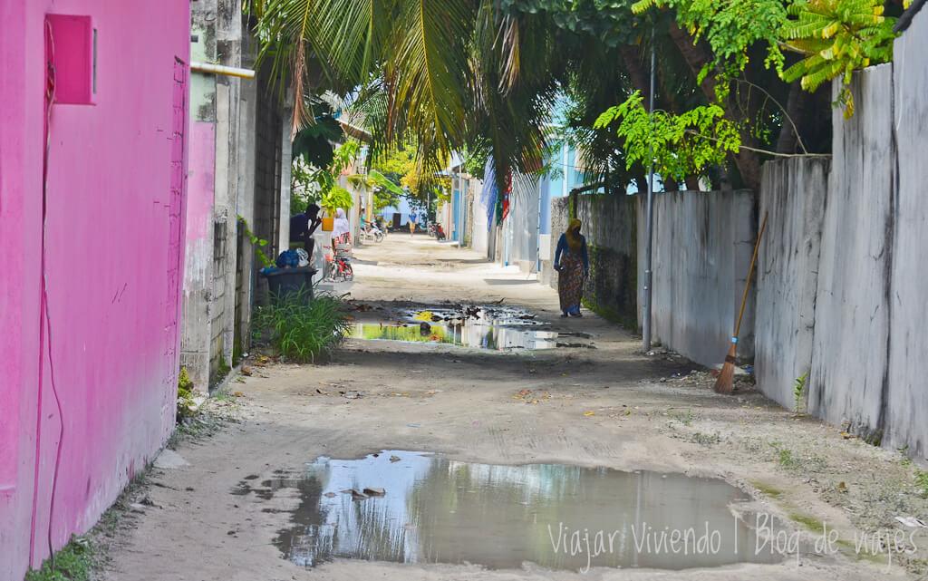 calles de arena en rasdhoo