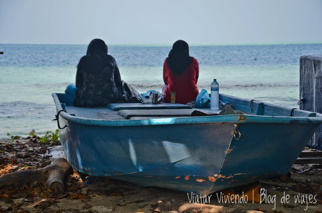 gente local es islas maldivas