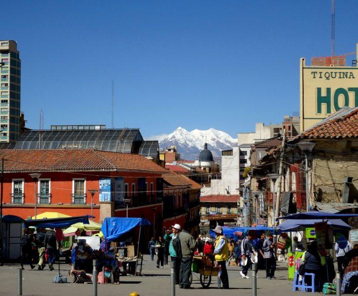 Montañas de la Paz, Bolivia