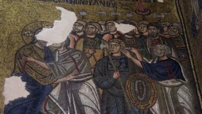Mosaico en el monasterio de Nea Moni