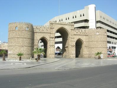 Restos de la muralla de Yeda