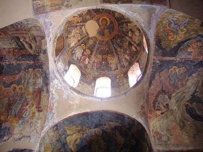 Frescos del monasterio de Peribleptos