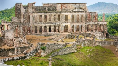 Ruinas del palacio de Sans Souci