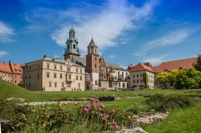 Castillo de Cracovia, alojo de los principales monumentos de la ciudad