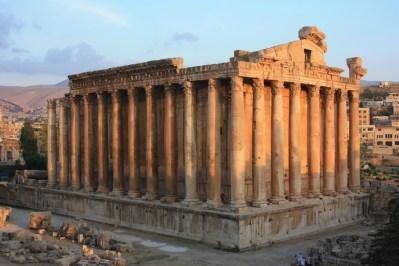 Templo de Baco en Baalbek