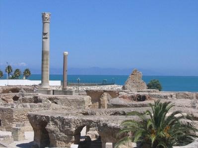 Termas de Antonino, principal obra romana en Cartago