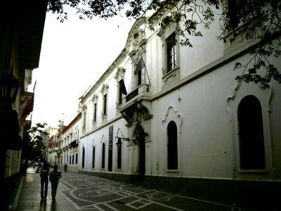 Antiguo rectorado de la universidad jesuita en Córdoba