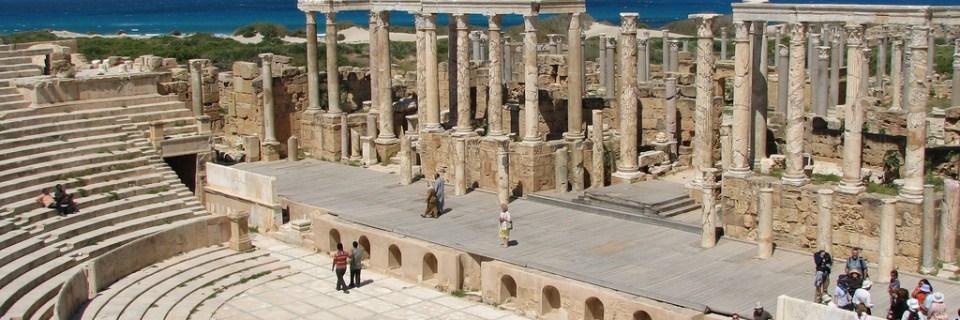 Sitio arqueológico de Leptis Magna