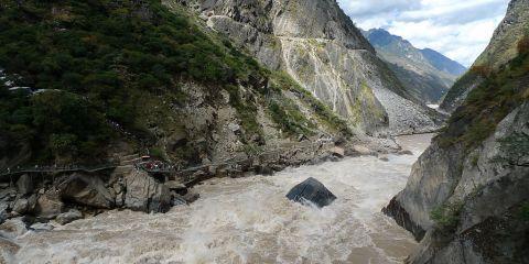 Zonas protegidas del Parque de los Tres Ríos Paralelos de Yunnan